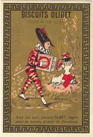 Chromo Bognard Bog2-45 Arlequin Et Colombine - Biscuits Olibet - Artis Historia