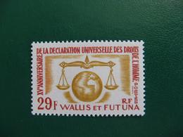 WALLIS YVERT POSTE ORDINAIRE N° 169 NEUF** LUXE COTE 8,60 EUROS - Unused Stamps