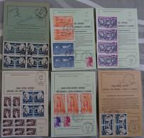 Guichets Annexes Du Var Sur 6 Ordres De Réexpédition (5 Hyères Et Grimaud) – 1973 à 1985 - Bolli Manuali