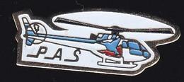 71132-Pin's. Hélicoptère.Aviation. - Aerei