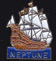 71151-Pin's.Neptune.Voilier.bateau. - Barche