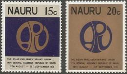 Nauru 1977 Local Churches 3 8 Asian Parlementarians Union Meeting 2 Values MNH 2105.2720 - Nauru