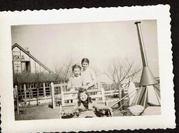 Photo Originale 10 X 7 Cm - Knokke - Enfants - Plaine De Jeux - Siska - Voir Scan - Plaatsen