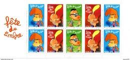 France.carnet No Bc3751ba De 2005.fete Du Timbre.titeuf.n**. - Stamp Day
