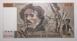 France - 100 Francs - 1993 - PICK 154g / F69bis.7 - SPL - 100 F 1978-1995 ''Delacroix''