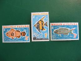 WALLIS TAXE N° 37/39 NEUFS ** LUXE COTE YVERT 6,00 EUROS - Unused Stamps