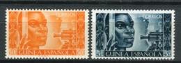 Guinea 1951. Edifil 309-10 ** MNH. - Guinée Espagnole