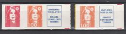 France   .    Y&T    .   3 Timbres      .  Non-plié     .    **     .   Neuf Avec Gomme Et SANS Charnière - Unused Stamps