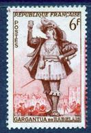 N° 943 Gargantua Faciale 6F - Curiosities: 1900-20 Mint/hinged