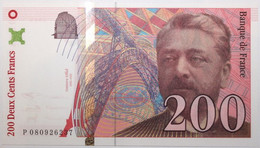 France - 200 Francs - 1999 - PICK 159c / F75.5 - NEUF - 200 F 1995-1999 ''Eiffel''