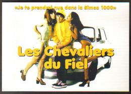 """Carte Postale édition """"Promocartes"""" - Les Chevaliers Du Fiel """"Je Te Prendrai Nue Dans La Simca 1000"""" - Advertising"""