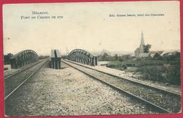 C.P Melreux  = Le  Pont  Du  Chemin  De Fer - Hotton