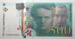 France - 500 Francs - 2000 - PICK 160d / F76.5 - NEUF - 500 F 1994-2000 ''Pierre En Marie Curie''