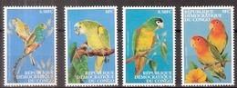 Congo 2000 OBCn° 1831-1834  *** MNH Cote 12,50 Euro Faune Oiseaux Vogels Birds - Ongebruikt