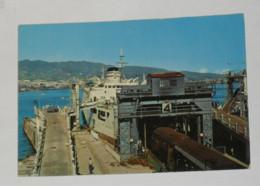MESSINA - Stazione Marittima Con Traghetto - Imbarco Del Treno - Ferrovia - Messina