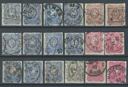 ZZ-/-129-. BON LOT,   VOIR OBL. & NUANCES,  VOIR IMAGE POUR DETAILS,  IMAGE DU VERSO SUR DEMANDE, - Used Stamps