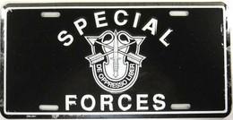 USA Metal (tin) Plate 'Special Forces' - De Oppresso Liber - 30x15cm - NEW ! - Plaques En Tôle (après 1960)