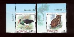 Moldova 2021 Europa CEPT Endangered National Wildlife 2v** MNH - Moldavia