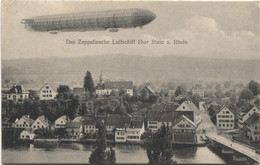 STEIN AM RHEIN SH 1908 Mit Zeppelin - SH Schaffhouse