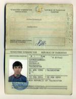 TAJIKISTAN 2014-2019 Passport Passeport Reisepass Pasaporte Passaporto Passaporte Paspoort - Documentos Históricos
