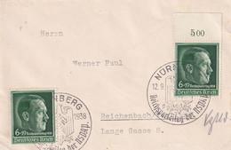 ALLEMAGNE 1938 LETTRE DE NÜRNBERG - Briefe U. Dokumente