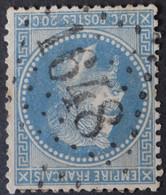 29A (cote 10 €) Obl GC 1648 Gex (1 Ain ) Ind 4 ; Frappe Très Nette Et TB Centrée - 1849-1876: Periodo Clásico