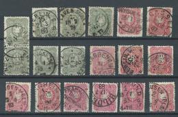 ZZ-/-197-. BON LOT,   VOIR OBL. & NUANCES,  VOIR IMAGE POUR DETAILS,  IMAGE DU VERSO SUR DEMANDE, - Used Stamps