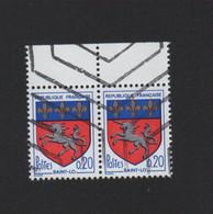 N° 1510, 20 C Blason De Saint-Lô Annulation Hexagonale - Non Classés