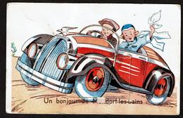 Un Bonjour De Mondorf-les-Bains - En Automobile - Carte à Système - Dépliant 10 Petites Vues - Complet - Voir Scans - Mondorf-les-Bains