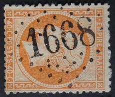 23 (cote 15 €) Obl GC 1668 Götzenbrück (55 Moselle ) Ind 9 ; Frappe Très Nette Et TB Centrée - 1849-1876: Klassik