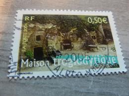 Maison Troglodytique - 0.50 € - Multicolore - Oblitéré - Année 2004 - - Used Stamps
