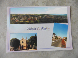 CARTE  POSTALE  VIERGE     DE     SEREZIN  DU  RHONE     ( RHONE) - Other Municipalities