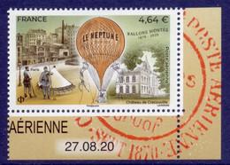 N° 84a Ballon Monté Faciale 4,64 € Issu De Min Feuille Avec Date - 1960-.... Mint/hinged
