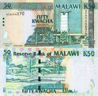 Malawi / 50 Kwacha / 2004 / P-49(a) / UNC - Malawi