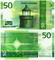 NORWAY 50 KRONER 2017 P 53 - UNC - Norway