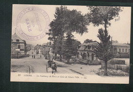 CP - 27 - Gisors - Faubourg De Paris - Gare De Gisors Ville - Gisors
