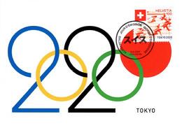 Maximumkarte 2021 Olympische Sommerspiele Tokyo 2020 /Summer Olympic Games / Jeux Olympiques D'été - Maximum Cards