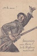 AK On Les Aura - Bons De La Défense - 1. WK (56495) - War 1914-18