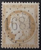 55 (cote 5 €) Obl GC 1681 Gourin (54 Morbihan ) Ind 8 ; Frappe Très Nette & TB Centrée - 1849-1876: Klassik