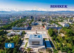 Kyrgyzstan Bishkek Aerial View New Postcard Kirgisistan AK - Kirghizistan