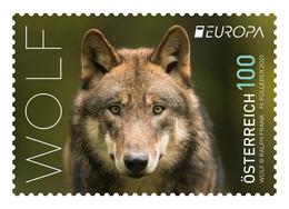 Austria 2021 - Europa 2021 Wolf Mnh - 2011-... Unused Stamps