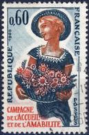 1449 L' AMABILITE  OBLITERE ANNEE 1965 - Usati