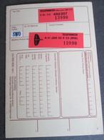 TELEFUNKEN, EQUIPMENT IDENTITY CARD, FOR TV - Televisione