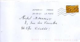 """2021--tp Adhésif  """"  Empreintes  De Chameau"""" ...................à  Saisir - 1961-...."""