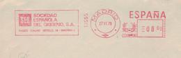 Sociedad Espanola Oxigeno Madrid 1979 - Sauerstoff - Medicina