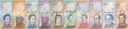 TWN - VENEZUELA Set Of 10 Different UNC Banknotes - Starting € 0,01 - Venezuela