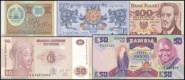 TWN - Set Of 5 Different UNC Banknotes - Starting € 0,01 - Other
