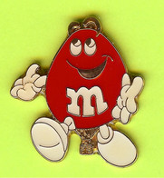 Pin's Montgolfière Bonbon M&M Rouge - 8Z02 - Mongolfiere