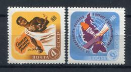URSS 1961. Yvert 2406-7 ** MNH. - Nuovi