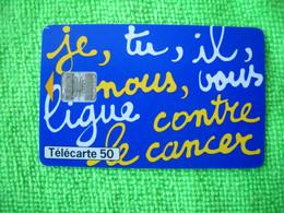 7122 Télécarte Collection Ligue Contre Le Cancer Devinez Ligueur    50u  ( Recto Verso)  Carte Téléphonique - Altri
